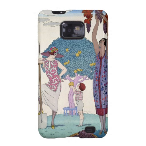 The Earth, 1925 (colour litho) Samsung Galaxy SII Case