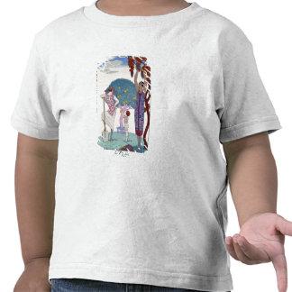 The Earth, 1925 (colour litho) Shirts