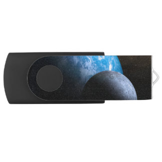 The Earth and Moon USB Flash Drive