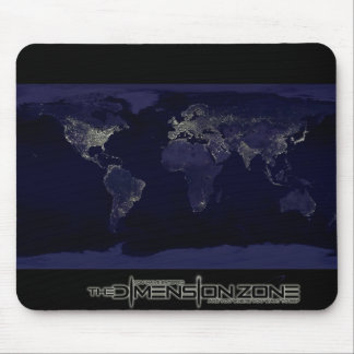 The Earth at Night Mouse Pad