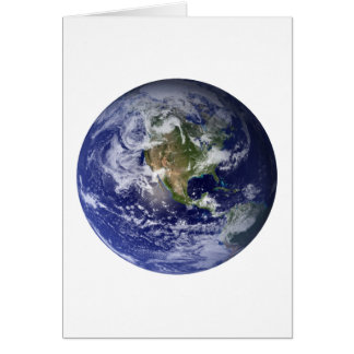 The Earth From Space Card
