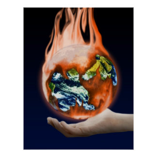 The Earth is in  our Hands Poster