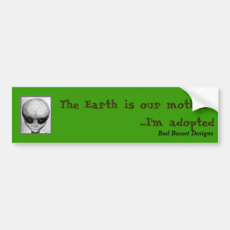 The Earth is our mother... Bumper Sticker