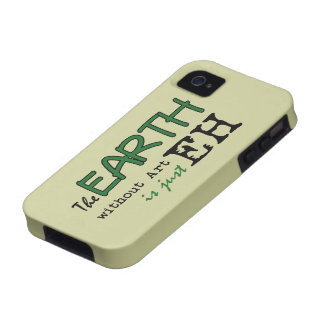 The Earth Without Art iPhone 4/4S Covers