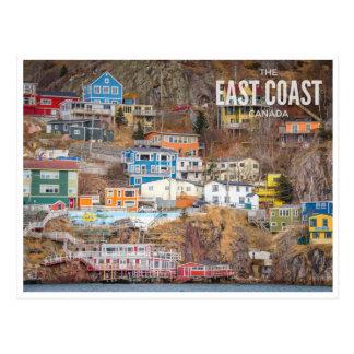 The East Coast, Canada Postcard