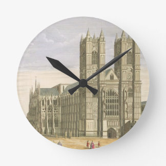 The East Prospect of the Abbey of St. Peter and th Wall Clocks