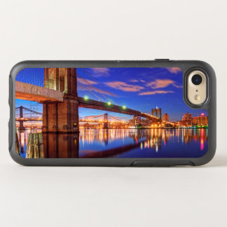 The East River, Brooklyn Bridge, Manhattan OtterBox Symmetry iPhone 7 Case