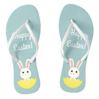 The Easter Bunny I Flip Flops