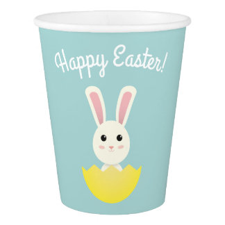 The Easter Bunny I Paper Cup