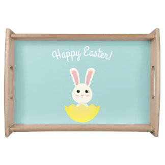 The Easter Bunny I Serving Tray