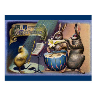 The Easter Concert Postcard