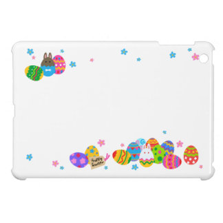< The Easter egg and the rabbit it is piled up, Cover For The iPad Mini