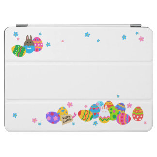 < The Easter egg and the rabbit it is piled up, iPad Air Cover