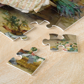 The Easter Eggs, fine art vintage painting Jigsaw Puzzle
