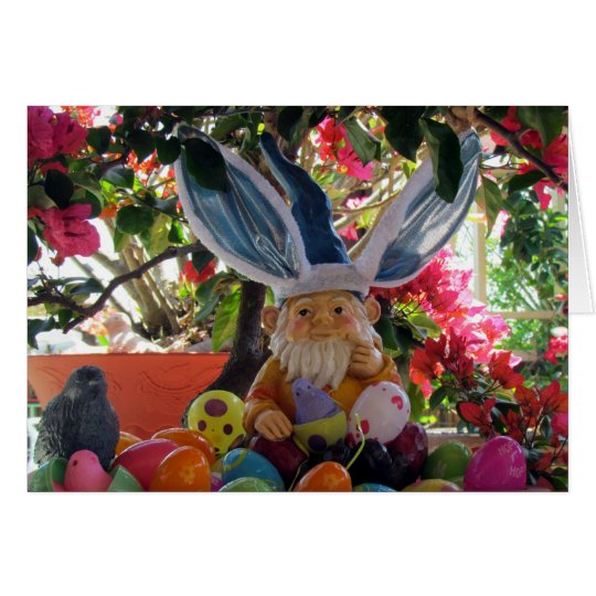 The Easter Gnome Card