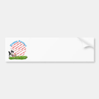 The Easter Kitten  Photo Frame Bumper Stickers