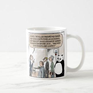 The Eats Shoots and Leaves Mug