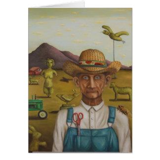 The Eccentric Farmer Card
