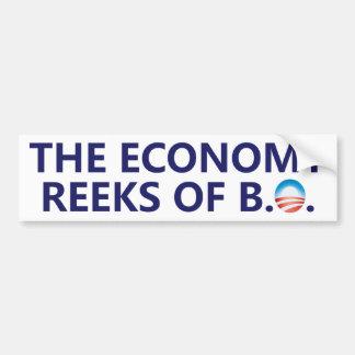 The Economy Reeks Bumper Sticker