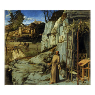 The Ecstasy of St. Francis by Giovanni Bellini Poster