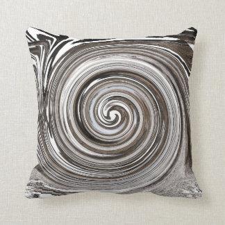 The eddy throw pillow