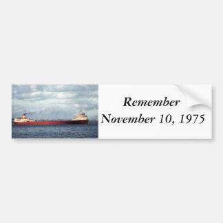 The Edmund Fitzgerald Bumper Sticker