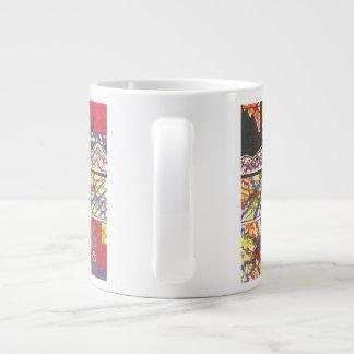 The Effortlessness Of Mind Travel Large Coffee Mug