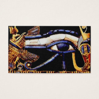 The Egyptian Eye of Horus Business Card