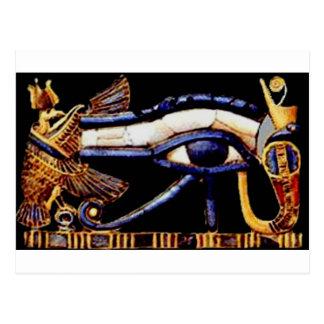 The Egyptian Eye of Horus Postcard