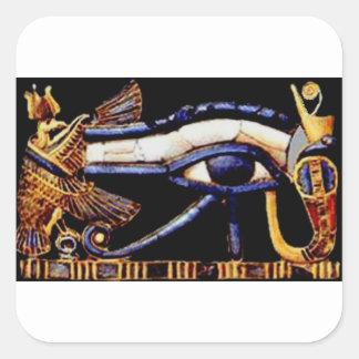 The Egyptian Eye of Horus Square Sticker