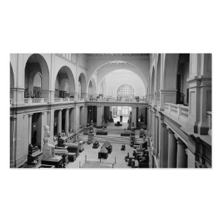 The Egyptian Museum (Interior) circa 1934 Pack Of Standard Business Cards