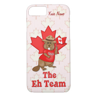 The Eh Team Beaver and Maple Leaf  - Customize iPhone 7 Case