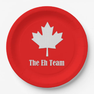 The Eh Team Canada Day Party Paper Plates