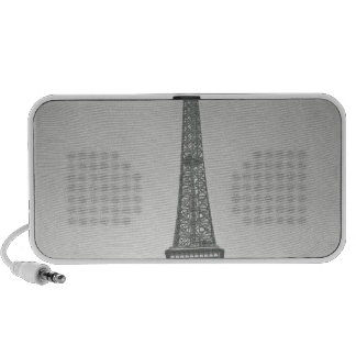 The Eiffel Tower, 1887-89 Mp3 Speakers