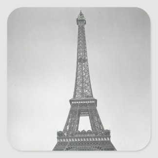 The Eiffel Tower, 1887-89 Square Sticker