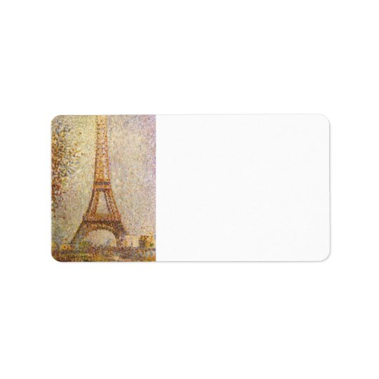 The Eiffel Tower by Georges Seurat