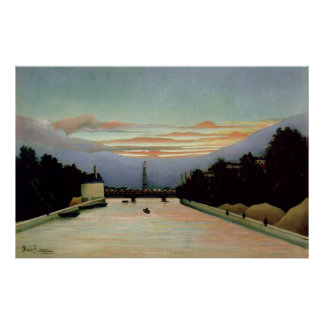 The Eiffel Tower Henri Rousseau 1898 Poster