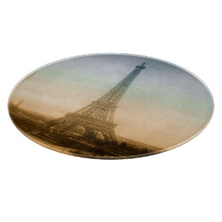 The Eiffel Tower In Paris Cutting Board