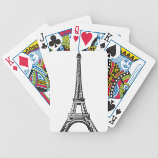 The Eiffel Tower (Live) Bicycle Playing Cards
