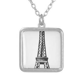 The Eiffel Tower (Live) Silver Plated Necklace