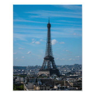 The Eiffel Tower, Paris - Photo Print