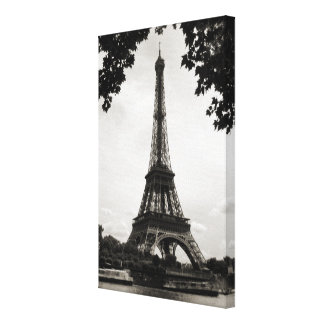 The Eiffel Tower, Paris - wrapped canvas