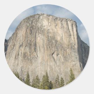 The El Capitan Classic Round Sticker