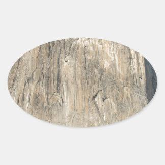 The El Capitan Oval Sticker