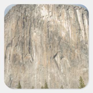 The El Capitan Square Sticker
