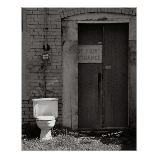 The Electric Outhouse Poster