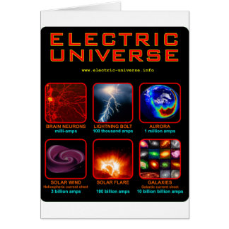 The Electric Universe Card
