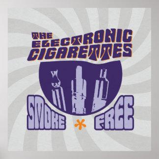 The Electronic Cigarettes - Smoke Free Poster