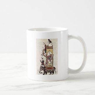 The Elefantenuhr By Syrischer Maler Um 1315 Coffee Mug