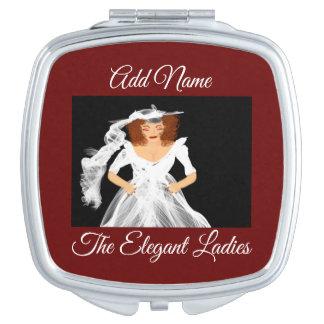 """The Elegant Ladies"" Compact Mirror"